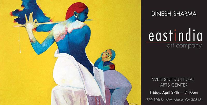 Art Show for Dinesh Sharma