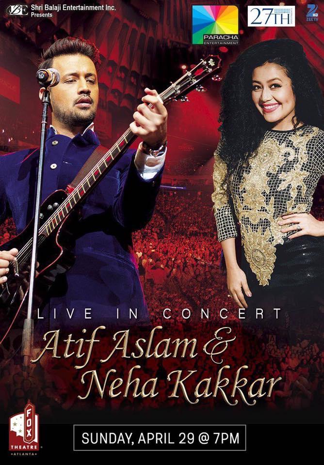 Atif Aslam & Neha Kakkar Live In Concert