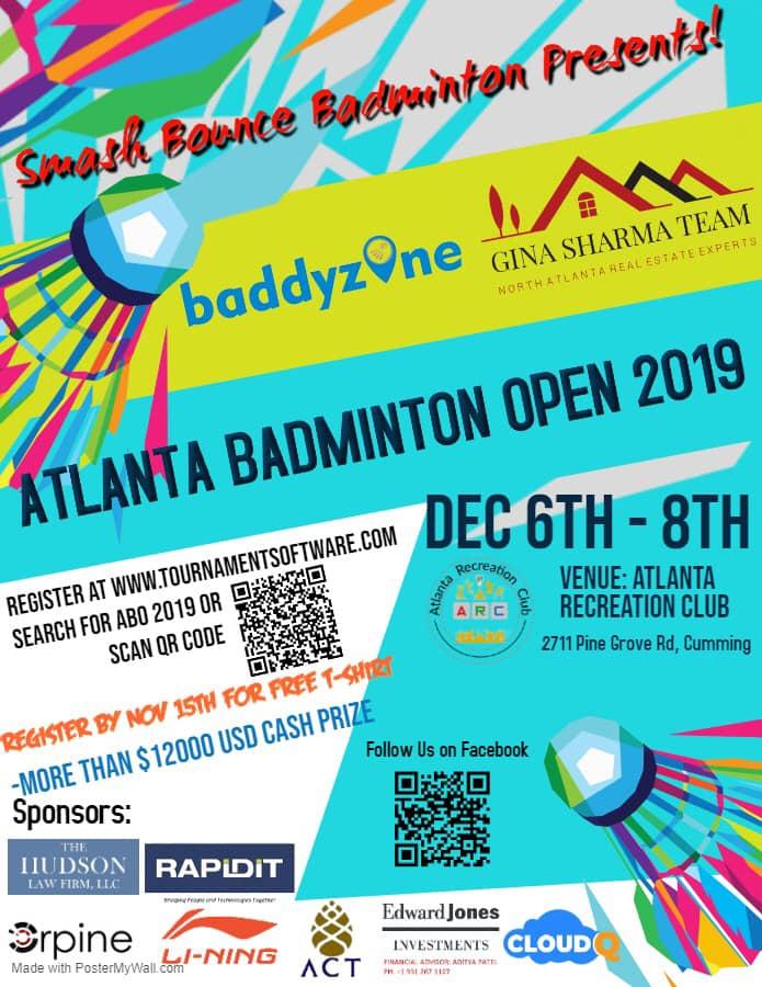 Atlanta Badminton Open in Cumming