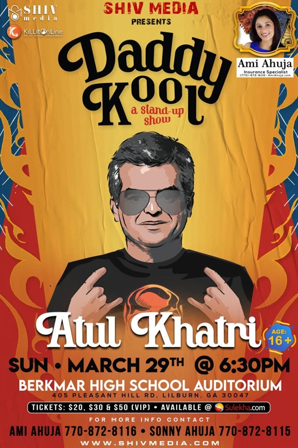 Atul Khatri Stand-Up Comedy Live in Atlanta