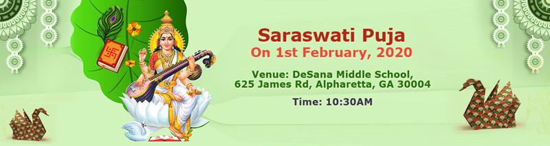BAGA: Saraswati Puja in Alpharetta