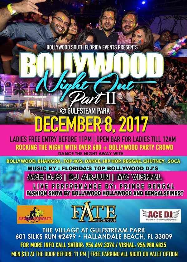 Bollywood Night Out Party II
