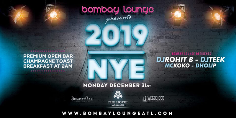 Bombay Lounge: NYE