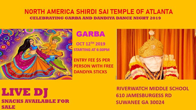 Celebrating GARBA and Dandiya Dance