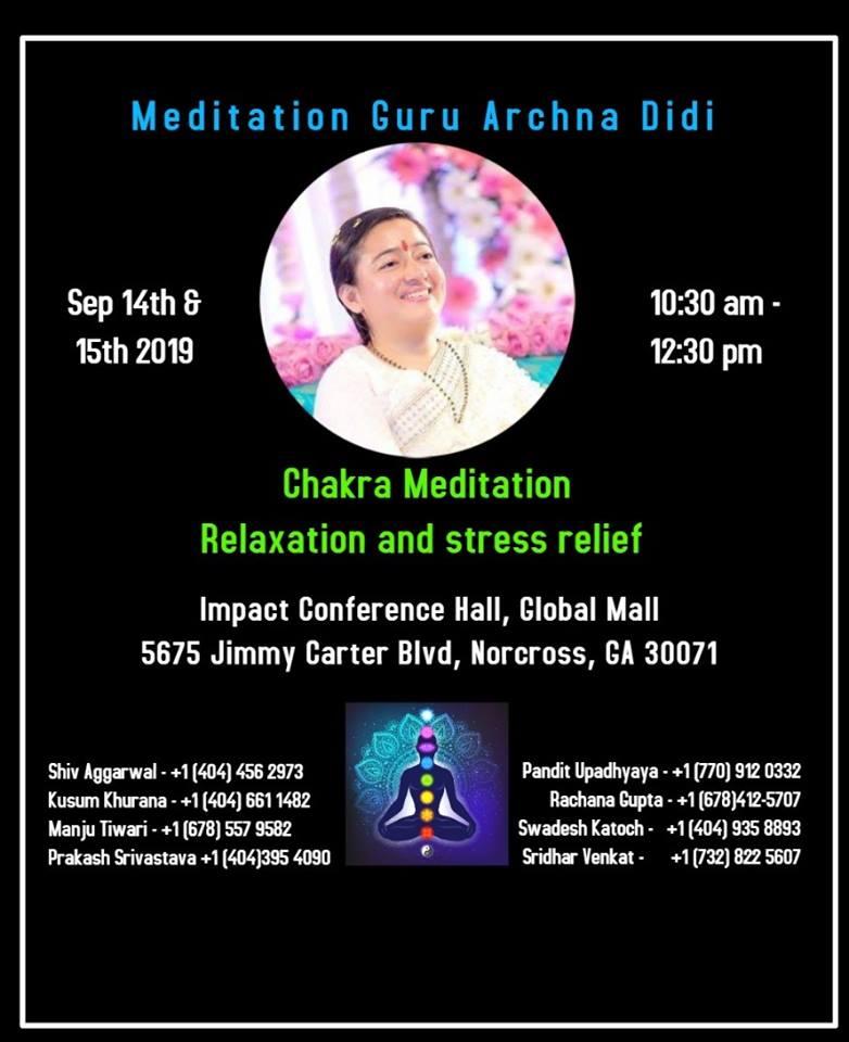 Chakra Meditation with Guru Archna Didi