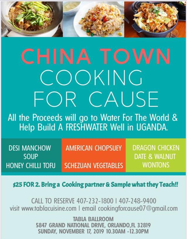 China Town Cooking For Cause in Orlando