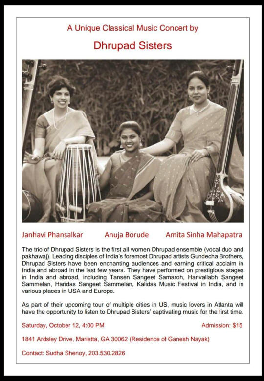 Classical Music Concert by Dhrupad Sisters
