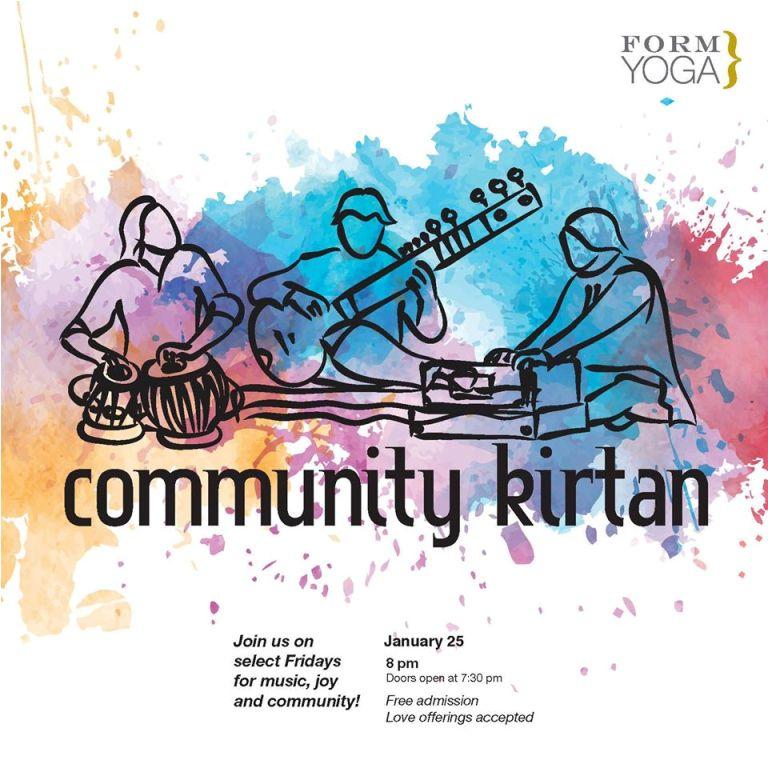 Community Kirtan in Decatur