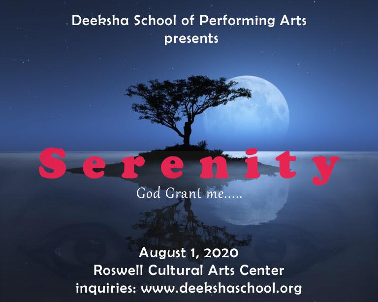 Deeksha Dance Program - Serenity in Roswell