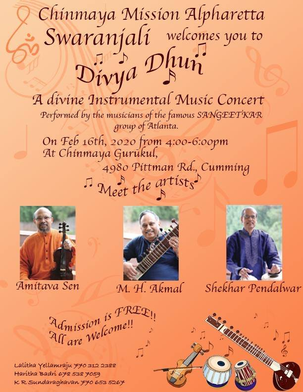 Divya Dhun: A Divine Instrumental Music Concert by Sangeetkar in Cumming