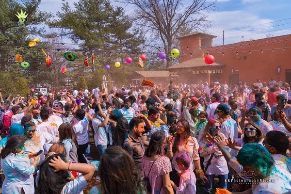 Holi Celebrations 2020 - Open Air - Party on the Patio in Stockbridge