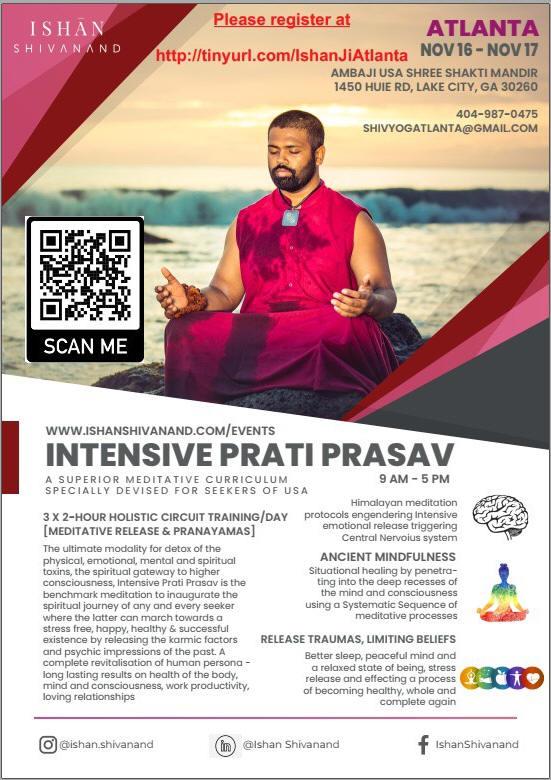 Ishan Shivanand Meditation Camp