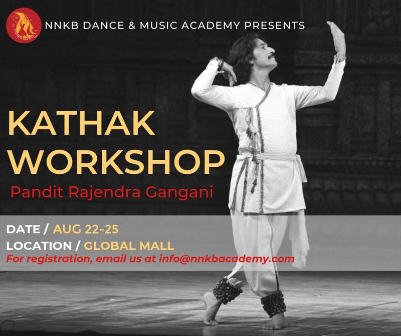 Kathak workshop w/Pandit Gangani