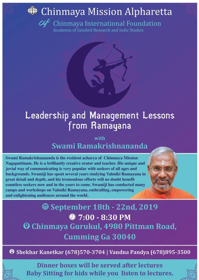 Leadership & Management from Ramayana