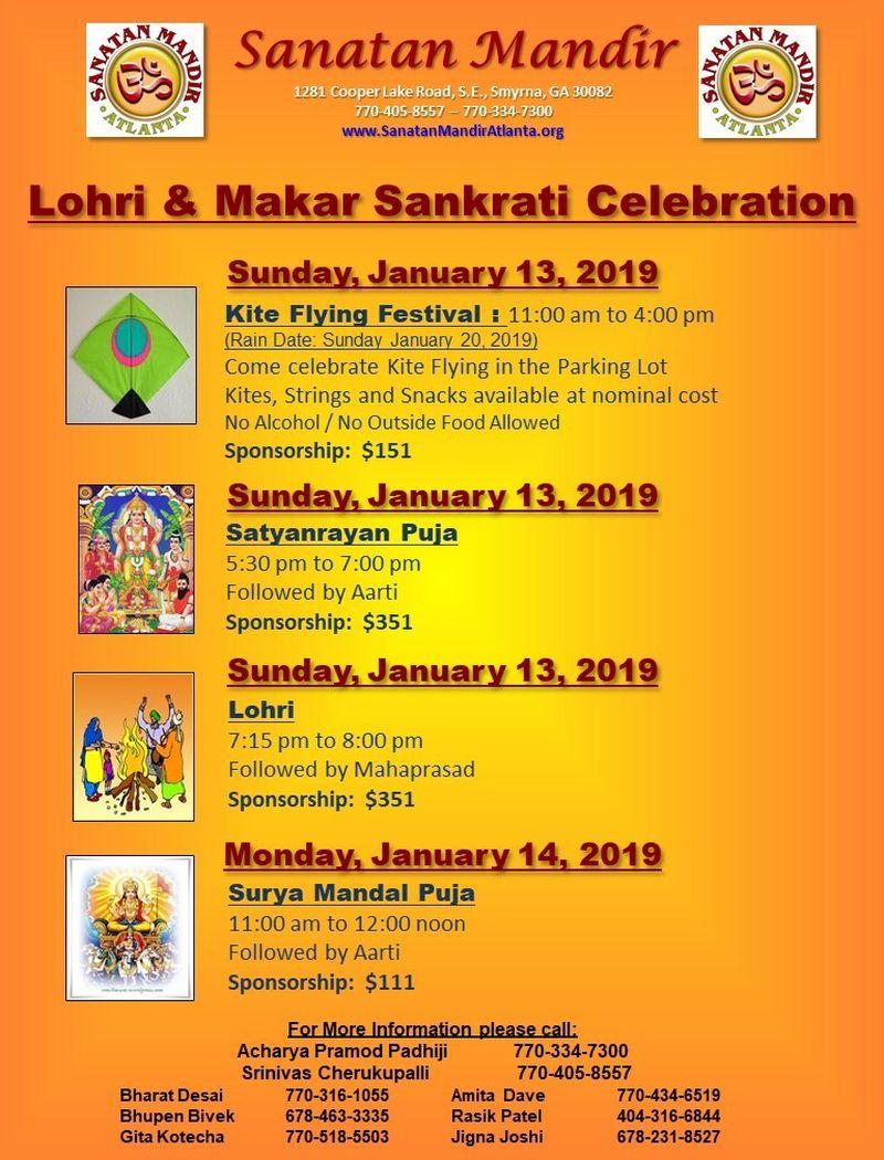 Lohri & Makar Sankrati Celebration