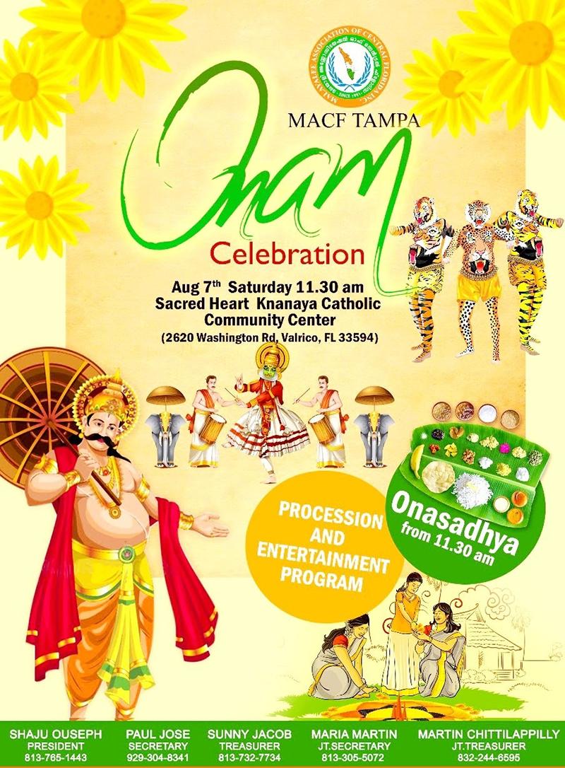 MACF Tampa Onam Celebration