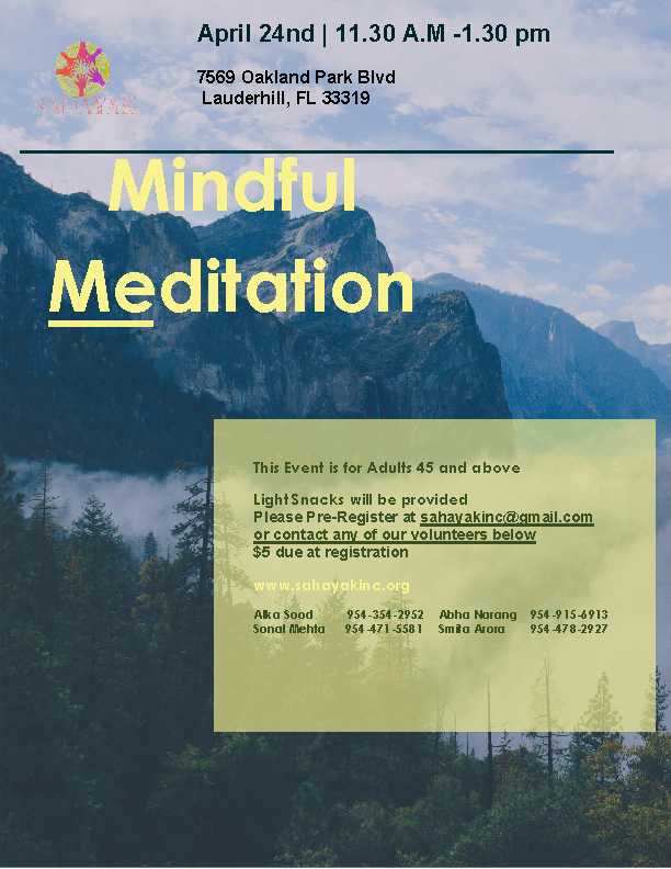 Mindful Meditation in Lauderhill