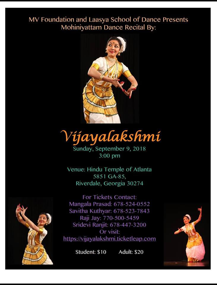 Mohiniyattam Dance Recital