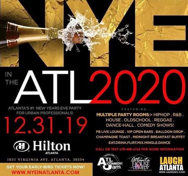 NYE in Atlanta 2020 in Hapeville