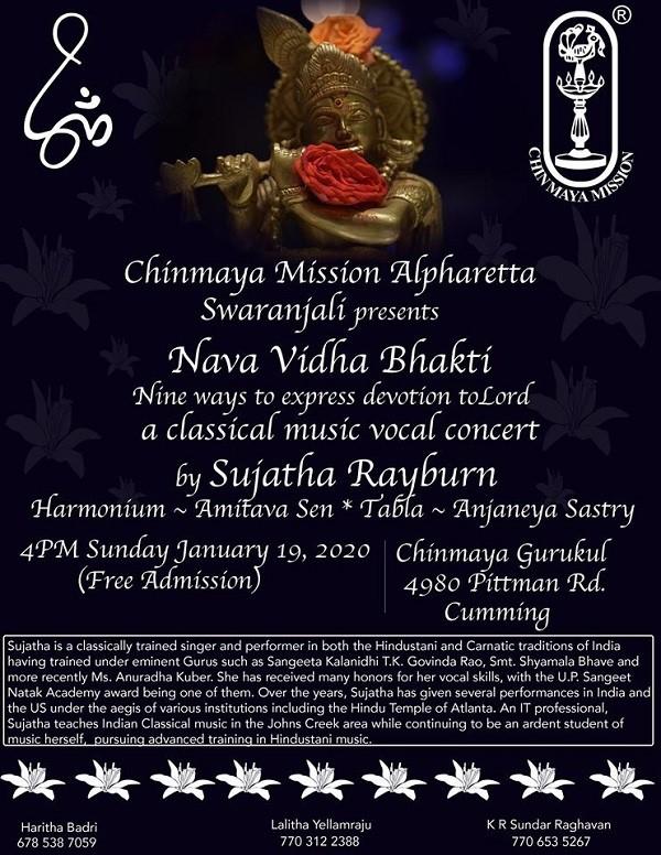 Nava Vidha Bhakti in Cumming
