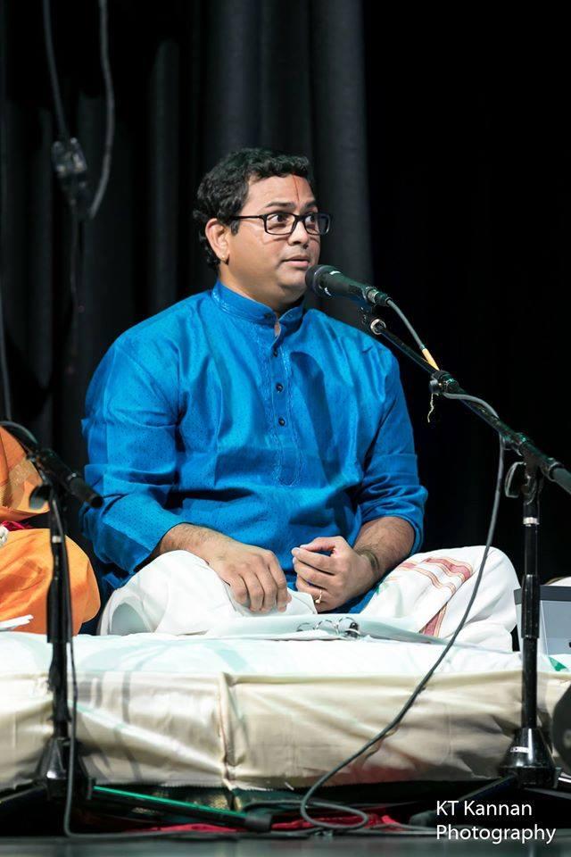 Prasanna Sounderarajan Vocal Concert in Cumming
