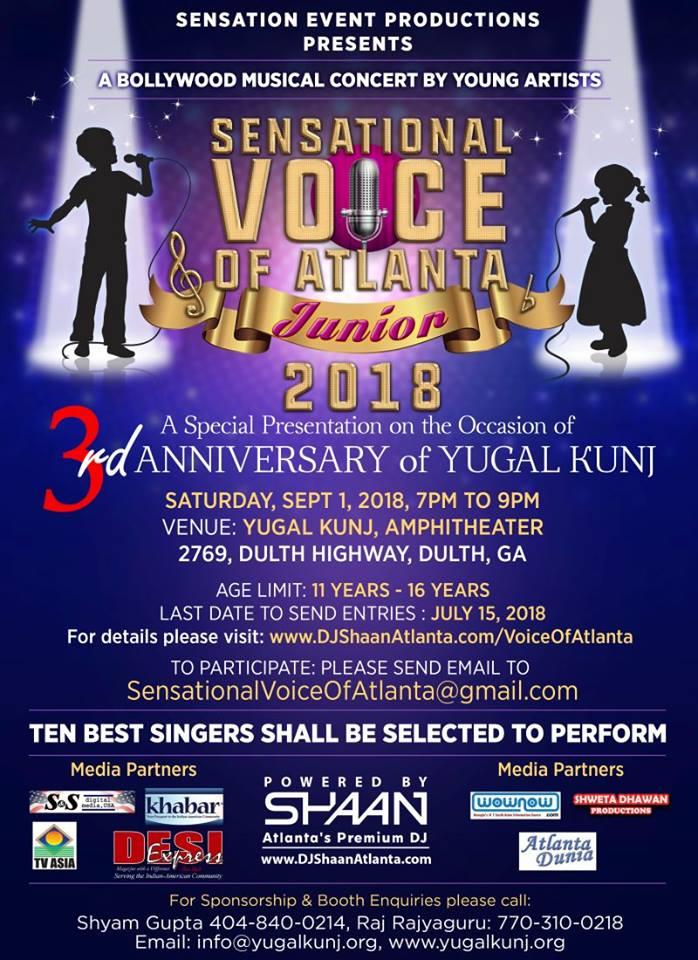 Sensational Voice of Atlanta - Juniors