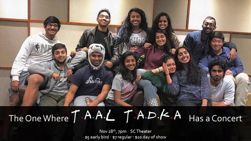 Taal Tadka Fall Concert