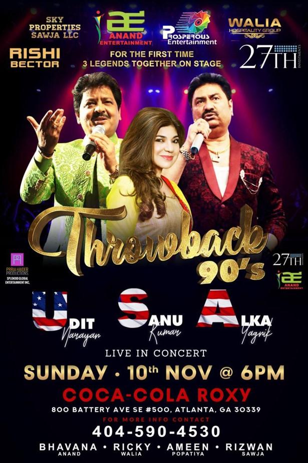 Throwback 90's With Udit Narayan-Alka Yagnik and Kumar Sanu