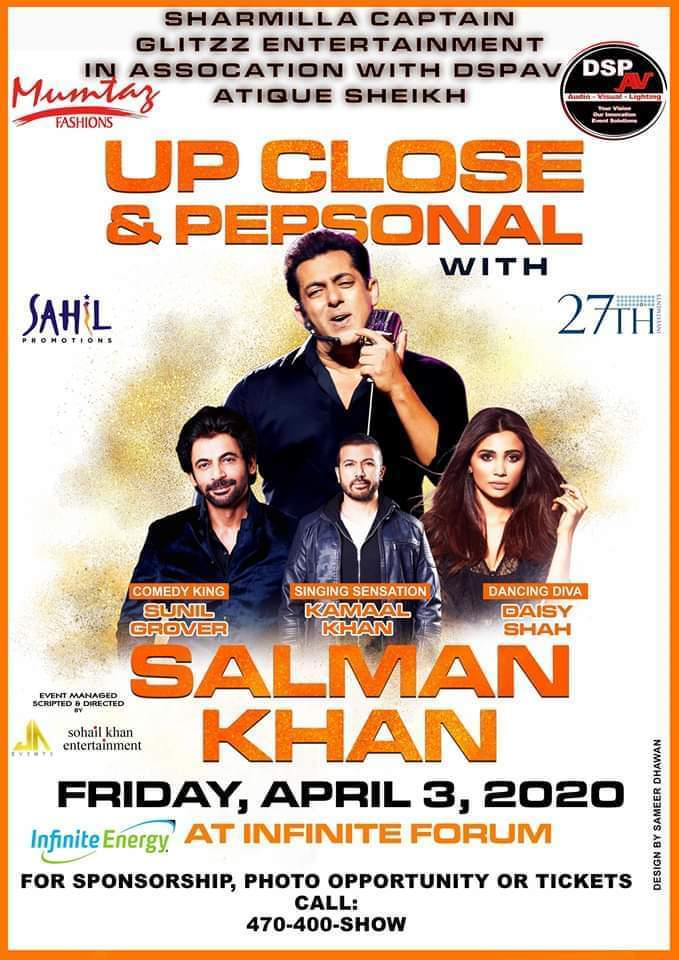 Up Close & Personal w/ Salman Khan in Duluth