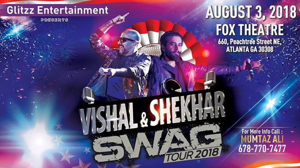 Vishal & Shekhar Swag Tour