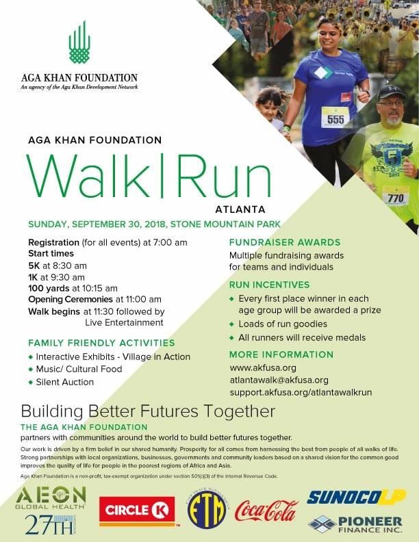 Walk/Run: Aga Khan Foundation