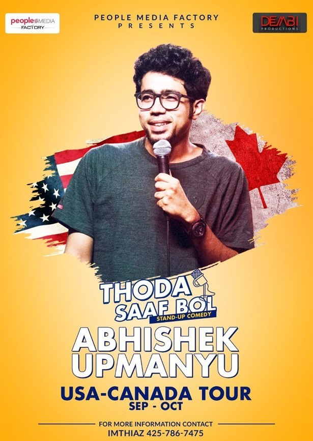 Abhishek Upmanyu Stand-Up Comedy