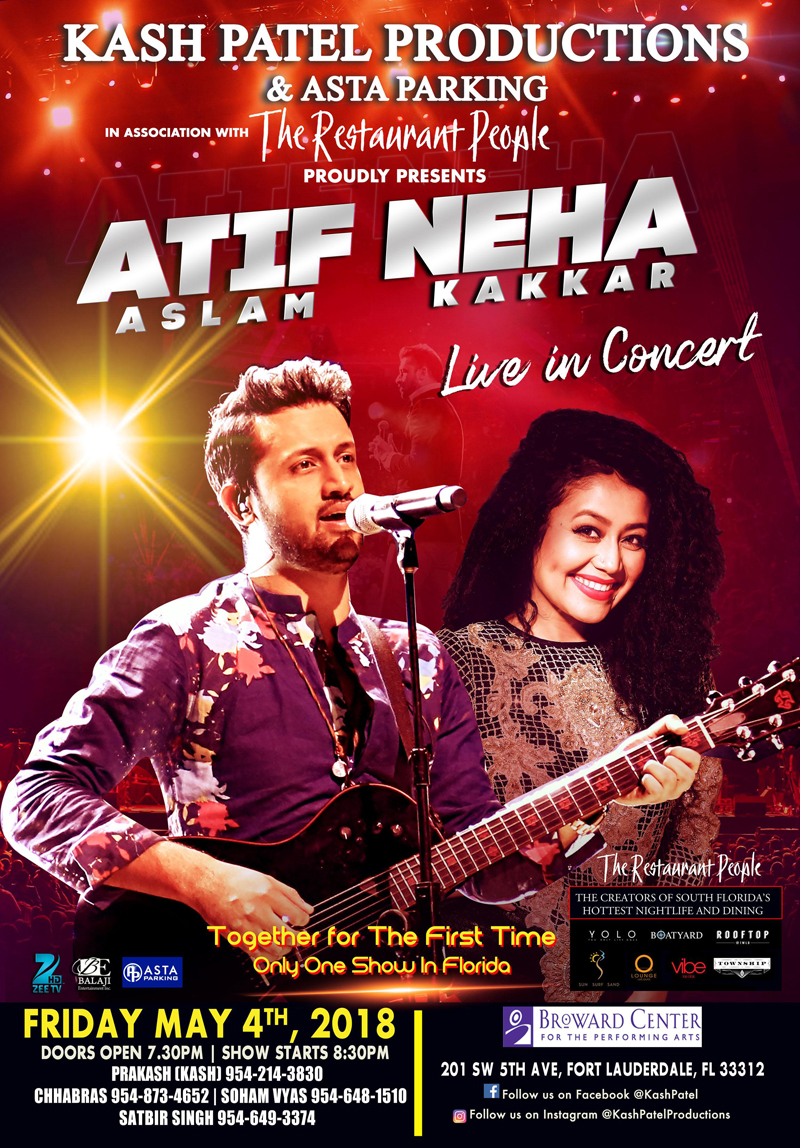 Atif Aslam and Neha Kakkar Live in Concert