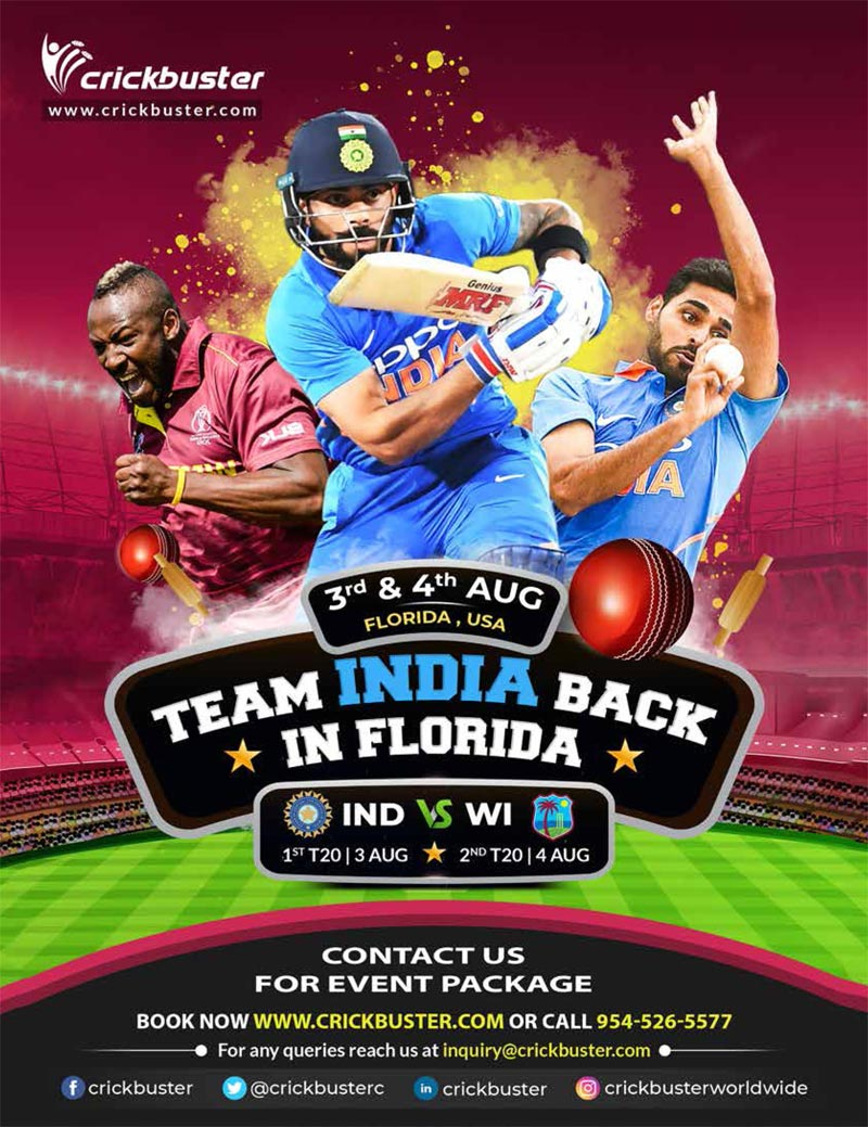 Team India Back In Florida