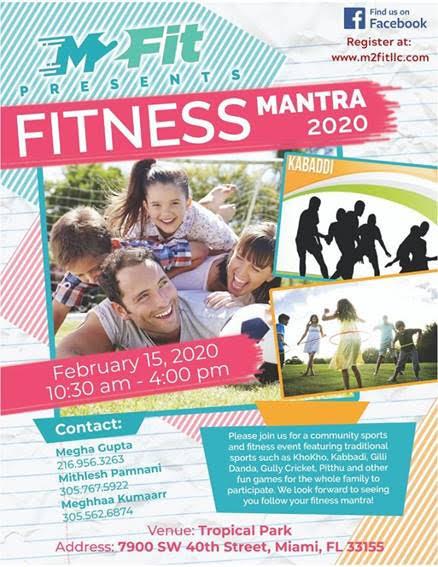 Fitness Manatra 2020 in Miami