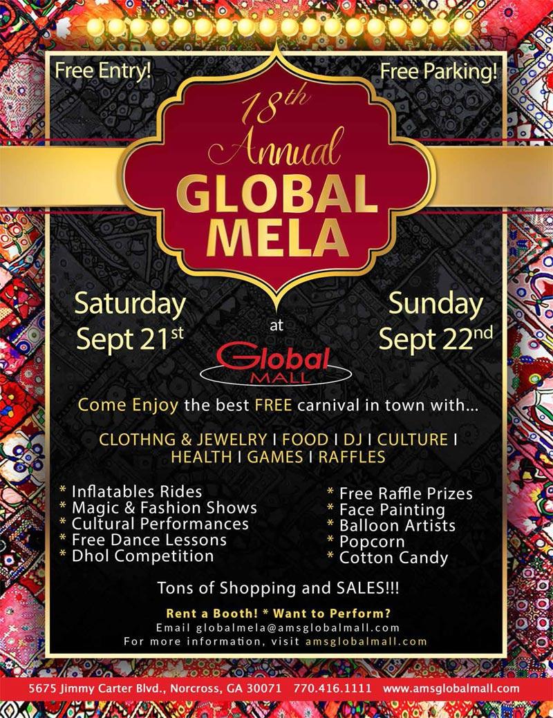 18th Annual Global Mela at Global Mall