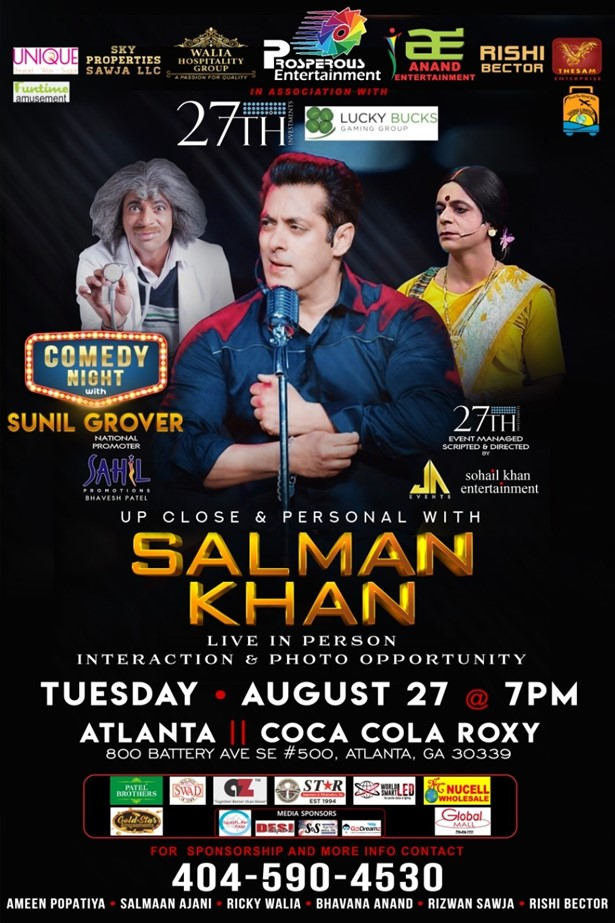 Up Close and Personal With Salman Khan & Sunil Grover