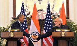 Press Cpnferance with Narendra Modi