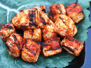 Spiced Grilled Tofu