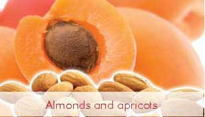 Almond and Apricots
