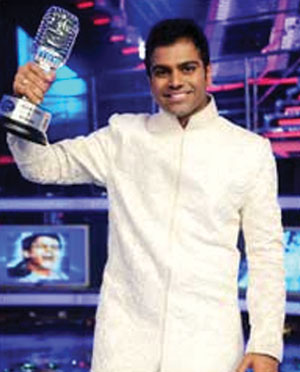 Sreeramchandra Mynampati from Hyderabad emerged as the triumphant winner of Indian Idol 5