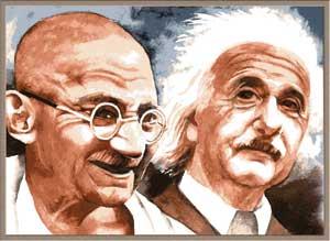 Einstein's Admiration for Mahatma Gandhi