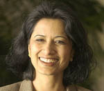 Renu Khator, PhD, is the new Provost at USF. Photo taken Monday, February 9.