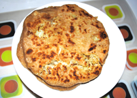Corn and Cauliflower Roti