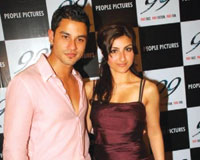Soha Ali Khan and Kunal Khemu