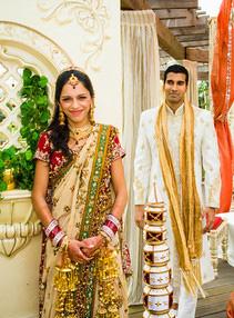 The engagement of Kavita and Prashanth