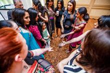 Nirjary Desai and Kids