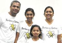 Stuti With Family
