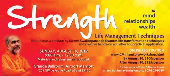 Strength Life Management Techniques