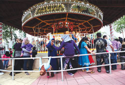 US Muslims Celebrate Great Muslim Adventure Day